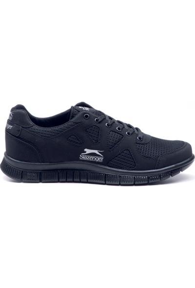 Slazenger Aktom Koşu & Yürüyüş Erkek Ayakkabı Siyah