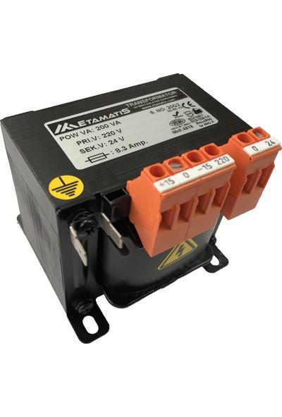 Etamatis 200 Va 380/24 V Ac Transformatör