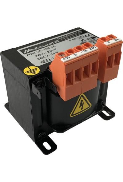 Etamatis 100 Va 220/24 V Ac Transformatör