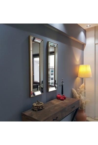 NEOstill -2'li Dekoratif Duvar Salon Ofis Çerçeveli Ayna A403a
