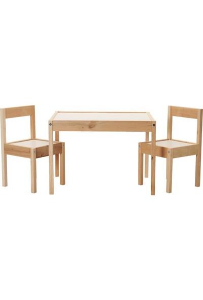 Neone Çocuk Çalışma Masası Oyun Ders Çalışma Masası Latt Modeli
