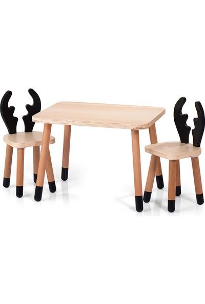 Neone Çocuk Çalışma Masası Oyun Ders Çalışma Masası Etkinlik Masası