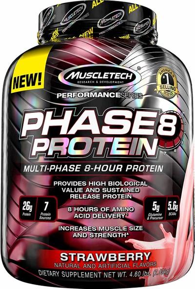 Muscletech Phase 8 Protein 2.1 Kg Çilekli