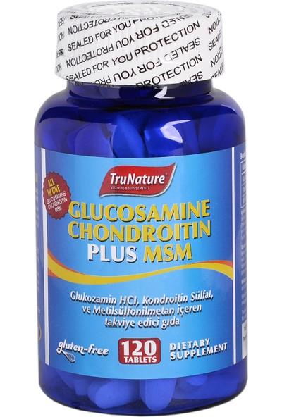 Trunature Glucosamine Chondroıtın Plus Msm 120 Tablet