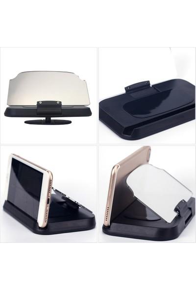 Booyse Akıllı Telefon Ön Cam Yansıtıcı Araç Kiti HUD Ekran