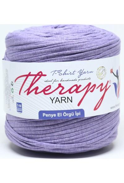 Therapy Yarn 2010 Koyu Leylak Penye İp
