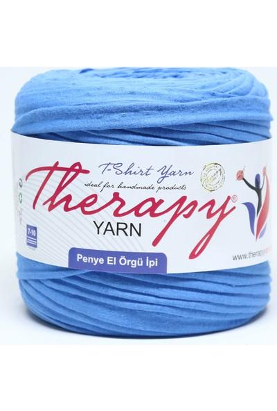 Therapy Yarn 2021 Gök Mavi Penye İp