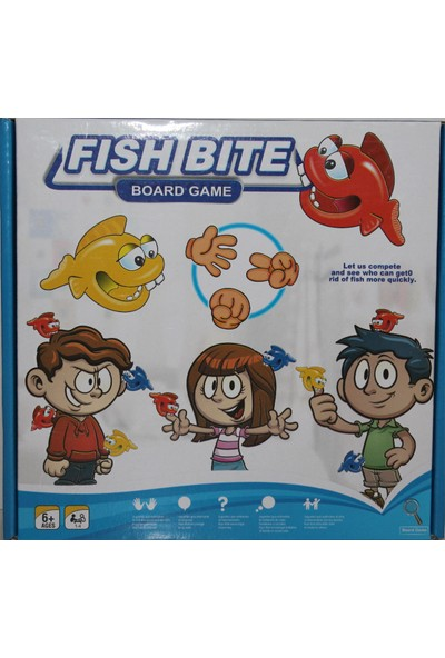 Board Games Fısh Bıte(Taş,Kağıt,Makas)