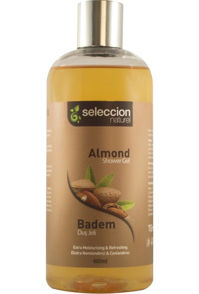 Seleccion Naturel Duş Jeli Badem 400 ml
