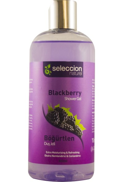 Seleccion Naturel Duş Jeli Böğürtlen 400 ml