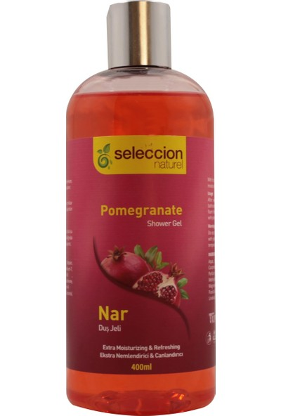 Seleccion Naturel Duş Jeli Nar 400 ml