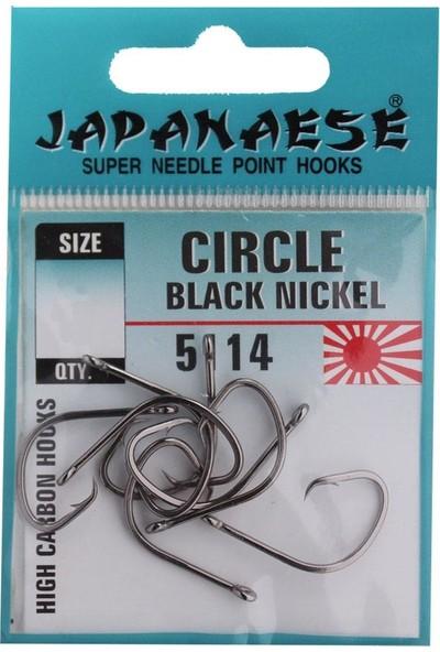 Japanese Circle Black Nikel Olta İğnesi