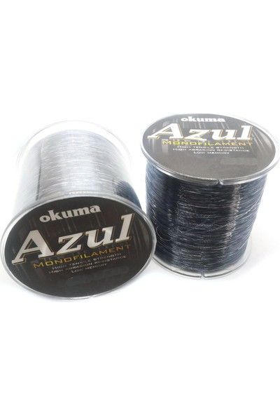 Okuma Azul Light Gray Monoflament Olta Misinası