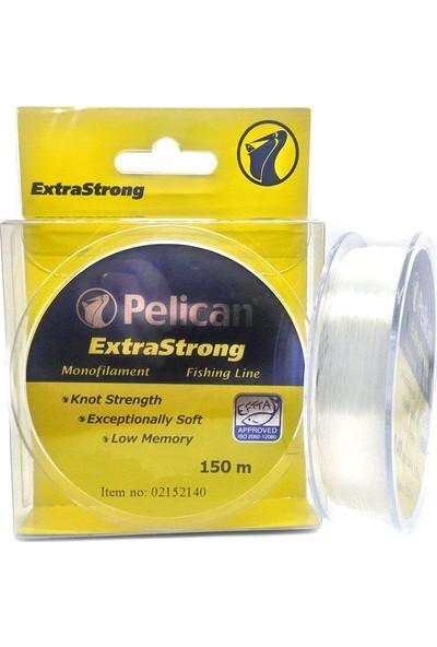 Pelican Extra Strong Beyaz Monoflament Olta Misinası 150Mt