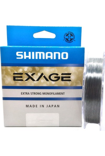 Shimano Exage Extra Strong Monoflament Olta Misinası 300Mt