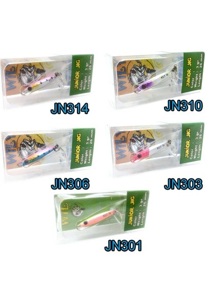Wily Junior Baby Vibrasyon 3Gr 26Mm Jig Yem