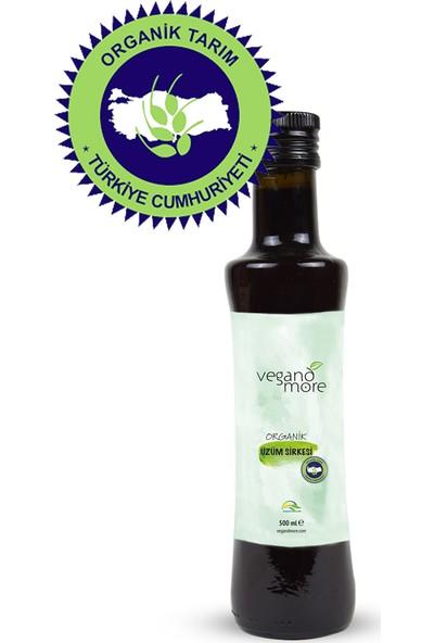 Vegandmore Organik Üzüm Sirkesi 500 ml