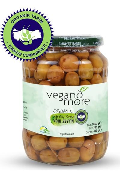 Vegandmore Organik Kırma Yeşil Zeytin 420 gr