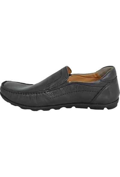 Bemsa 9104 Deri Erkek Ayakkabı Siyah