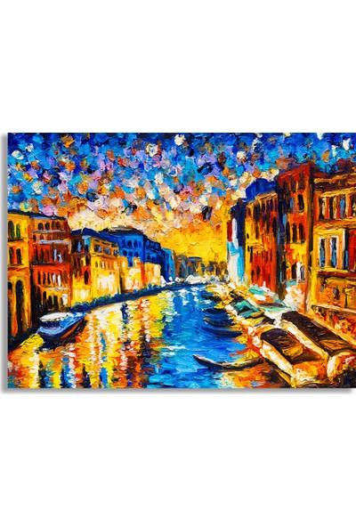 Decobritish Venedik Yağlı Boya Kanvas Tablo