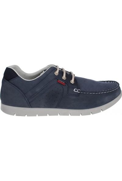 Scooter M5195 Bağlı Günlük Mavi Erkek Ayakkabı