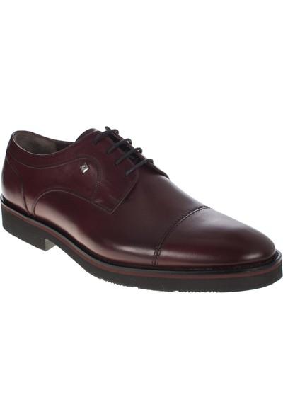 Fosco 9108 Bağlı Klasik Bordo Erkek Ayakkabı