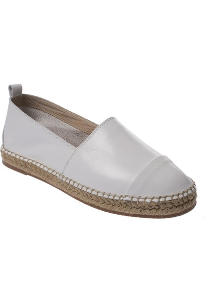 Stella 19703 Bağsız Günlük Beyaz Kadın Ayakkabı