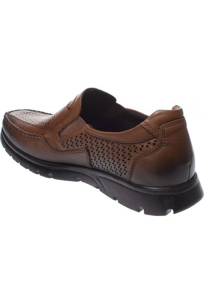 Forelli 32618 Erkek Taba Deri Comfort Ayakkabı