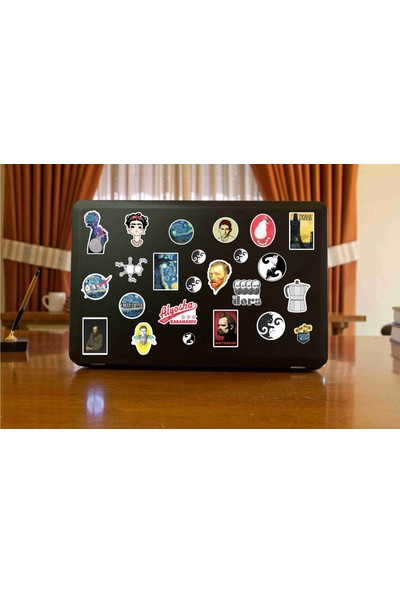 StickerMarket Laptop Sticker Seti