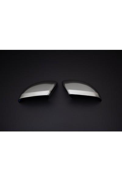 Omsaline Mercedes Vito/W447 Ayna Kapağı 2 Prç. Abs Saten Krom 2014 ve Sonrası