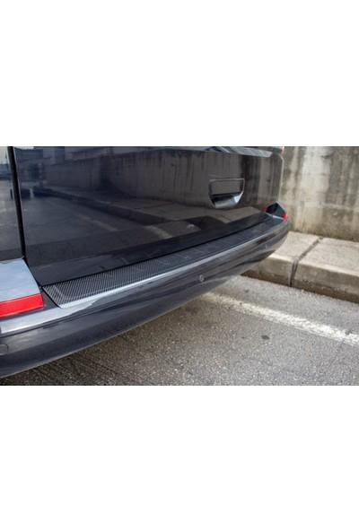 Omsaline VW T6 Transporter Arka Tampon Eşiği (Karbon ) (2015-)