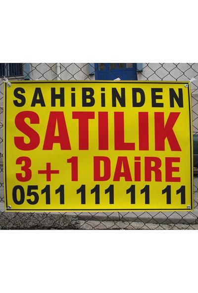 New Jargon Sahibinden Satılık 3+1 Daire Afişi 100 x 70 cm