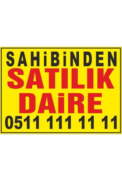 New Jargon Sahibinden Satılık Daire Afişi 50 x 70 cm