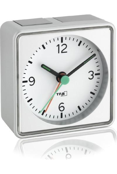 Tfa Push Alarmlı Aydınlatmalı Elektronik Masa Saati