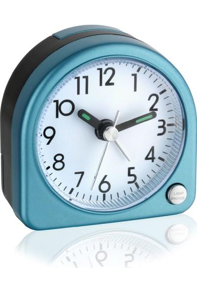 Tfa Elektronik Mini Alarm Saat Aydınlatmalı Mavi