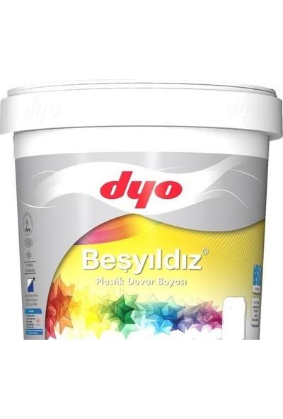 Dyo Beşyıldız Plastik İç Cephe Boyası 10 Kg Beyaz
