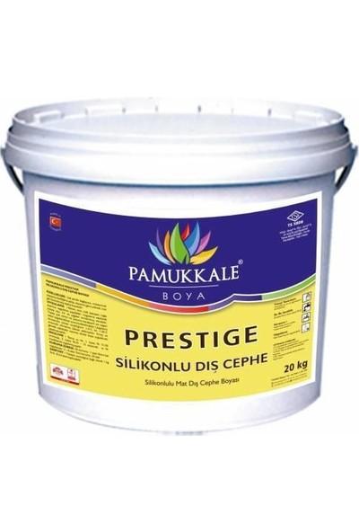 Pamukkale Prestige Silikonlu Dış Cephe Boyası 3.5 Kg Siyah