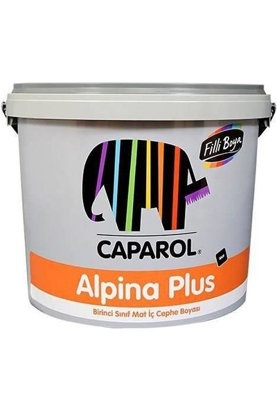 Filli Boya Alpina Plus İç Cephe Boyası 7.5 Lt Beyaz