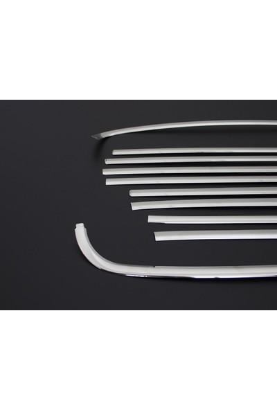 Omsa Line Omkar Volkswagen Caddy Cam Çerçevesi 12 Parça Paslanmaz Çelik 2003 Ve Sonrası