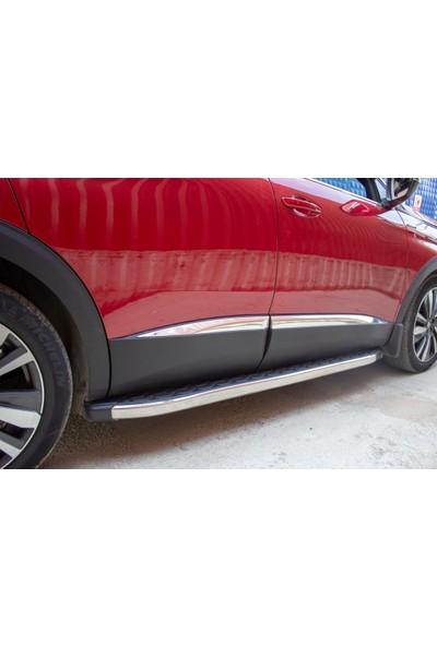Omsa Line Peugeot 3008 Yan Kapı Çıtası 4 Parça P.Çelik (2016-)Suv