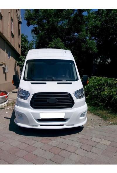 Omsa Line Ford Transit Ön Tampon Sisli Ve Gündüz Ledli 2014 Ve Sonrası