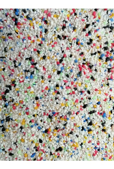 Woddy Karışık Renkli Akvaryum Kumu 1-3 Mm 1 kg