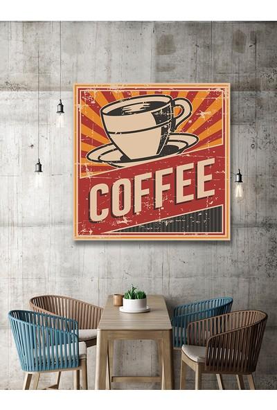 Decobritish Cafe Dekoratif Kanvas Tablo