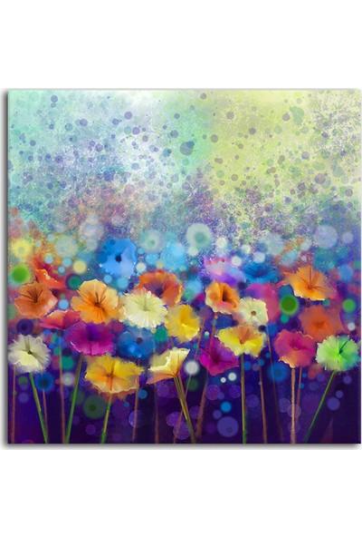 Diji Kanvas Dekoratif Çiçekler Kanvas Tablo