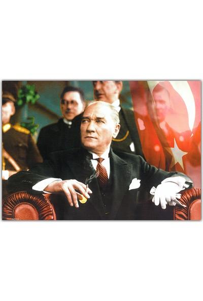 Diji Kanvas Mustafa Kemal Atatürk Kanvas Tablo