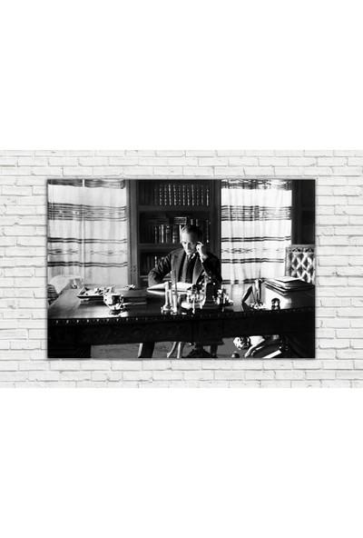 Diji Kanvas Mustafa Kemal Atatürk Kanvas Tablo 45x30