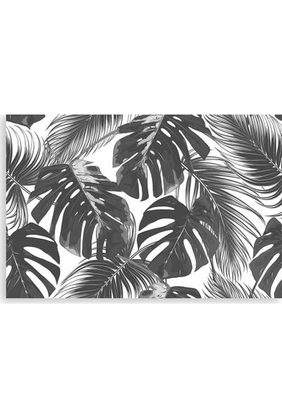 Diji Kanvas Palmiye Yaprakları Kanvas Tablo