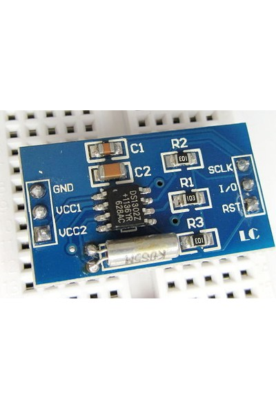 Bakay Ds1302 Saat Modülü - Arduino