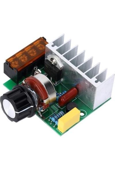Bakay Dimmer 4000W Ac Voltaj Regulator Dimmer 220V Motor Hız Kontrol