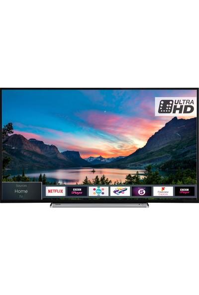 Toshiba 49V6863 49'' 124 Ekran Uydu Alıcılı 4K Ultra HD Smart LED TV